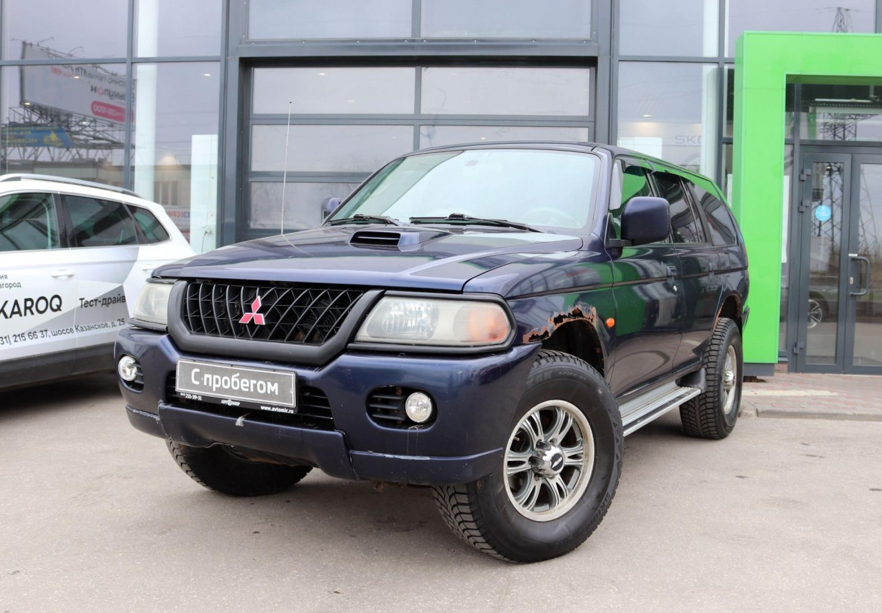 Mitsubishi Pajero Sport 1998 - 2004